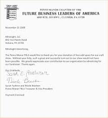 Thank You For Your Business Letter