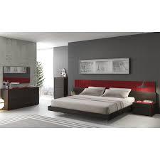 Masculine Bedroom Furniture Simple Platform Customizable Masculine Bedroom Sets Modern Cal