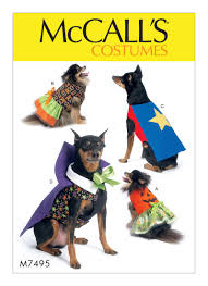 Dog Costume Patterns Best M48 McCall's Patterns Dog Costumes For Halloween Pet Patterns