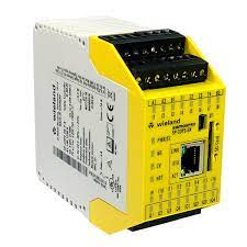 Controlador Lógico Programável CLP Wieland SP-COP2-EN-P-A DC 24V  R1.190.1230.0 - Eletropeças Comercial Eletrônica Ltda.