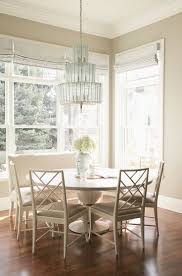 transitional dining chair sch: alice lane home collection cottonwood craftsman dining nook with round dining table dining nookdining chairskitchen diningtransitional