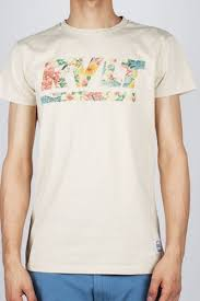 <b>Футболка REVOLUTION Mono Tee</b> Floral (Off-White, M ...