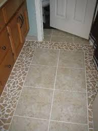 bathroom tile floor patterns. Broken Tile Floors | Shell, And Glass Bead Mirror Bathroom Floor - Patterns T