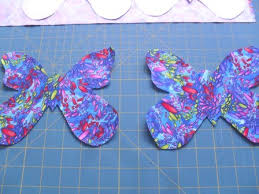 Butterfly Applique Quilt Pattern - Ludlow Quilt and Sew & Cut fabric butterflies Adamdwight.com