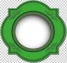 Circle Calendar Template Green Template Calendar Painted Green Circle Png Clipart