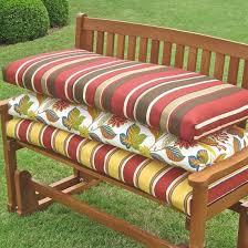 Entrancing 55 Inch Outdoor Bench Cushion A Backyard graphy