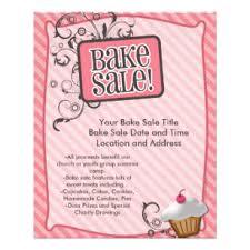 sale flyers bake sale flyers zazzle