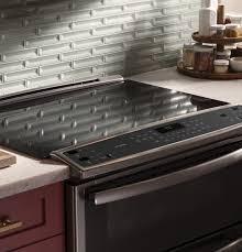 Electric range countertop Kitchen Ge Profile Series 30 Wisegeek Ge Profile Ps950sfss Ge Profile Series 30