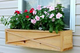 using cedar wood to build a widow box planter