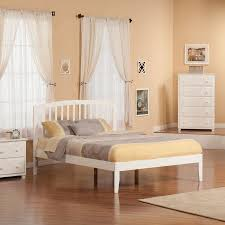 Atlantic Furniture Richmond White Queen Platform Bed at Lowes.com