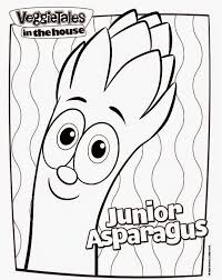 Small Picture Veggie tales coloring pages junior asparagus ColoringStar