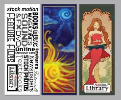 Library Bookmarks By Chronicdoodler On Deviantart