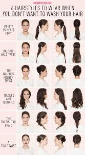 no wash hairstyle ideas celebrity hairstylist tommy buckett is here to save you time with six gorgeous wash not necessary styles you can bang out with the