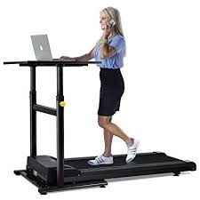 standing desk treadmill. Plain Standing Goplus Treadmill Desk Standing Walking Electric Machine  WTabletop Height Adjustable Workstation Perfect In I