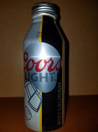 Coors Light Collectible Bottles Pittsburgh Steelers 2015 Coors Light Bottle Coors Light