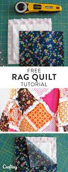 Making a Rag Quilt: A Tutorial on Craftsy | Rag quilt, Sewing ... & Are you thinking about quilting something charming and cozy this winter?  You should think about Adamdwight.com