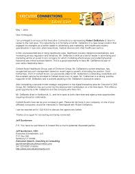 Executive Cover Letter All Capture Collection Of Solutions Ad