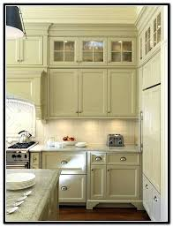 Glass In Kitchen Cabinet Doors Adorable Decoration Kitchen Cabinets With Glass Doors On Top Home Design