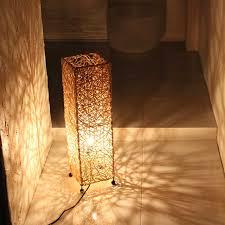 concealed lighting. Lighting Concealed Light Stand Floor Lamp Rattan Natural H60cm Asian Interior Lights Delax G