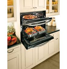 Gas Double Oven Wall Ge Cooks Up Double Oven Versatility In One Small Space Ge