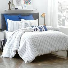 blue stripe bedding under the canopy stripe cotton reversible duvet set blue and white striped king blue stripe bedding