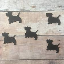 get ations scottie dog confetti decorations dog party supplies pet theme scottie dog