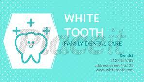 dental visiting card design placeit dental business card maker