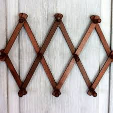 Wall Mounted Hat And Coat Rack Shop Wood Hanging Coat Rack On Wanelo 64