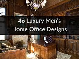 home office luxury home. 46 Luxury Men\u0027s Home Office Designs N
