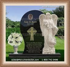 specially made memorial garden stones
