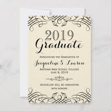 Formal College Graduation Announcements Formal Graduation Announcement Magdalene Project Org