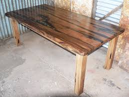 fantastic reclaimed timber dining table furniture 20 photo galleries recycled wooden dining table