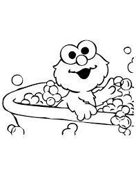 Small Picture Sesame Street Elmo Coloring Pages 8198 Bestofcoloringcom