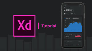 Create A Fitness Statistics App Line Graph Adobe Xd Tutorial Part 2