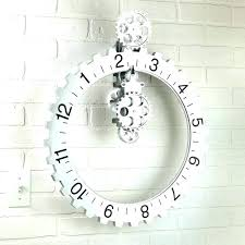 giant wall clock awesome wall clock oversized wall clock contemporary inspiring large decor intended for oversized giant wall clock