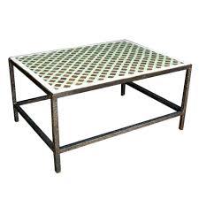 Moroccan Tile Top Coffee Table 1
