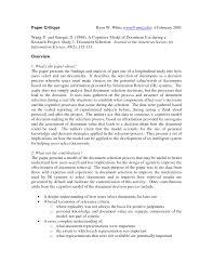 Examples Of Nursing Research Critique Paper Education Nursing