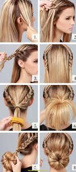 S Einfache Frisuren F R Lange Haare Zum Selber Machen Deltaclic