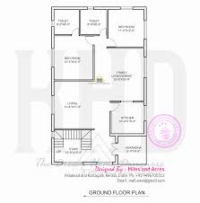 mail floorplan. Wide Flat Roof House With Floor Plan Kerala Home Design And Ground Drawing Mail Floorplan