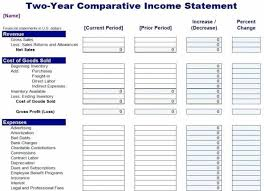Financial Template For Excel Company Income Statement Template Beautiful Template Excel Financial