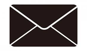 封筒型のメールアイコン Sozaiccomソザイック フリーのイラスト
