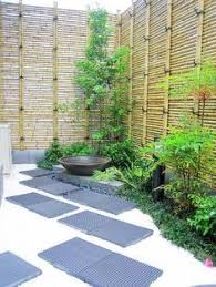 Small Picture would be cool where the wood fence is coming down Bamboo Borders
