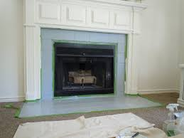 perfect painting fireplace tile painting tile fireplace t16 fireplace