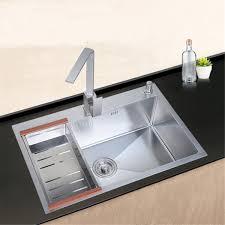 23x27 Stainless Steel Handmade Top Mount Single Bowl Basin Kitchen