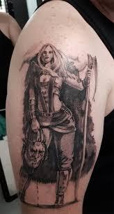Tetování Warrior Women Tetování Tattoo