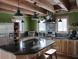 Rustic Industrial Kitchen Industrial Kitchen Island Table Maple Modern Industrial Kitchen