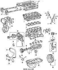 parts com® toyota celica engine oem parts 1993 toyota celica gt l4 2 2 liter gas engine