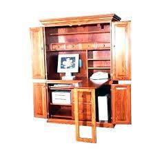 Small computer armoire Low Corner F1azerbaijanclub Corner Armoire Desk Full Size Of Table Desk Corner Desk Plans