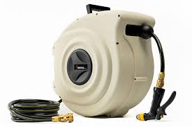 25m retractable hose reel with srs