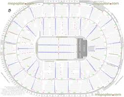 20 Complete Oakland Arena Seating Chart With Seat Numbers